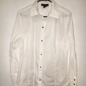 Attention womens white dress shirt C045